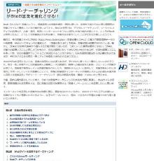 リード・ナーチャリングがBtoB営業を進化させる!!